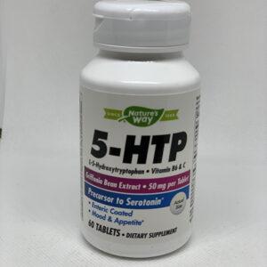 5-HTP50mg60ctNaturesWay